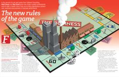 Monopoly board for Quality World Magazine www.nbillustration.co.uk/laurence-whiteley www.nbillustration.co.uk #digitalillustration Monopoly Board, Magazine Editorial, Digital Illustration, New Work, Magazines, Concept, Projects, Log Projects, Journals