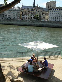 The Seine in summer