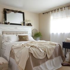 From houzz.com. Interesting concept, especially since our 100+ year old house has a fireplace in every bedroom!