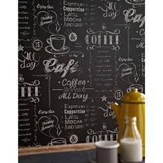 Ce papier peint déco signé GRAHAM & BROWN donnera un côté rétro ambiance bistrot à votre cuisine !  Livraison pas de porte- Largeur du rouleau : 53 cm. - Longueur : 10 mètres - Matière : Scope - Lessivable  - Raccord sauté  - Marque : GRAHAM & BROWN