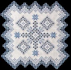 See the pretty Spin Out (Hardanger embroidery) at Nordic Needle