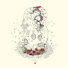 El Beso de Klimt By Vero Gatti