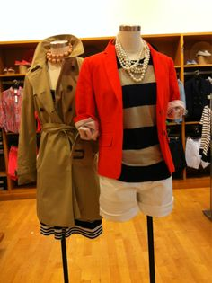 Trench and Blazer