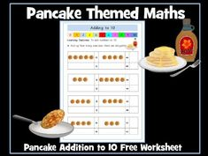 This is a Pancake Day themed worksheet on addition to You may also be interested In: Addition and Subtraction to 10 - Twenty Worksheets This resource c. Math Addition, Addition And Subtraction, Autism Resources, Teaching Resources, Pancake Day Maths, Maths Working Wall, Adding And Subtracting, Guided Reading, Worksheets