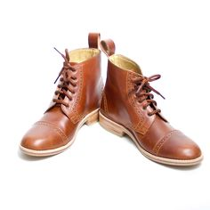 Fab.com | Rugby Boots Women's Brown by goodbye folk