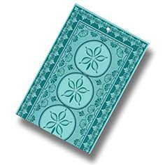 """Custom & Luxurious {40"""" x 72"""" Inch} 1 Single Jumbo & Thick Soft Summer Beach & Bath Towels Made of Quick-Dry Cotton w/ Cool Tropical Art Pattern Decoration Style [Blue, Teal, & Green]"""