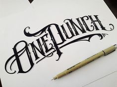 Handlettered Logotypes 3 on Behance By Mateusz Witczak