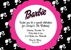 C'est La Vie Design: Barbie Themed Birthday Party