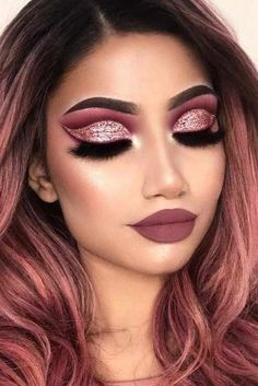 30 Festive Christmas Makeup Ideas ★ Newest Festive Makeup Ideas picture 3 ★ … Health & Fitness – Grandcrafter – DIY Christmas Ideas ♥ Homes Decoration Ideas Eyeliner Hacks, Simple Makeup, Natural Makeup, Makeup Tips, Eye Makeup, Makeup Ideas, Weihnachten Make-up, Sexy Make-up, Make Up Designs