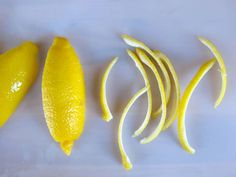 How to Make Candied Lemon Peels - Easy Video Tutorial Candied Lemon Peel, Candied Lemons, Candied Orange Peel, Kosher Desserts, Lower Cholesterol, Fruit And Veg, 2 Ingredients, Natural Cures, Easy Meals