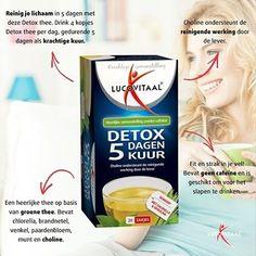 Reinig je lichaam met deze heerlijke Detox thee. Drink 4 kopjes per dag gedurende 5 dagen als krachtige kuur