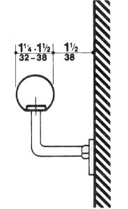 Fig 22 minimum dimensions of elevator cars are bs exam for Elevator grab bars
