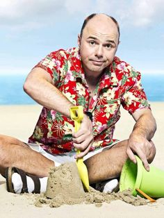 Karl Pilkington... Idiot Abroad LOL's my face off.