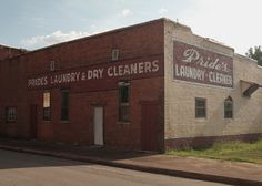 """Pride's Laundry & Dry Cleaning, Sheffield, AL, July 2016 / Fujifilm X100T, From """"Florence Alabama"""" at rspny.com"""