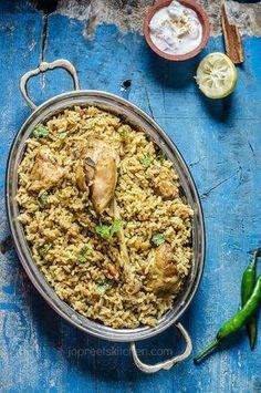 Dindigul Chicken Biriyani #indianfood #biryani #jopreetskitchen #foodphotography