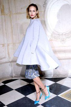 Front Row semanas de la moda Paris primavera verano 2014 Alta Costura