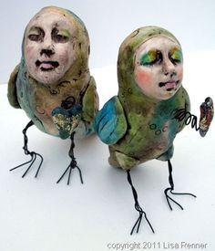 bird peeps by lisa renner