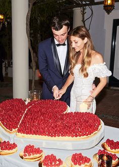 Our cake was another surprise. My sister designed it and worked with our wedding planner to have it made. I had no idea what we were getting—but I loved it. It was puff pastry, pastry cream, and raspberries.