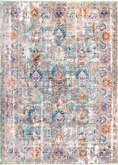 The Folktime Nirvana Fringe Rug offers vintage styling paired with ultra-soft materials. Enjoy this beautiful rug at low prices from Rugs USA!