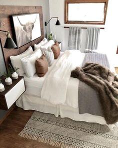 Dream Bedroom, Home Decor Bedroom, Brown Bedroom Decor, Tribal Bedroom, Tan Bedroom, Master Bedroom Makeover, Master Bedroom Design, Master Bedrooms, Awesome Bedrooms