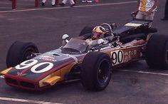 1969 Mike Mosley #90 Zecol/Lubaid - USAC Langhorne 150 - Orig 35mm Race Slide