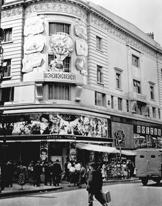 The Astoria, Charing Cross Road, London, 1956 #vintage