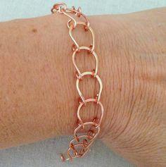Lisa Yang's Jewelry Blog: Lucky Horseshoe Handmade Wire Chain Tutorial
