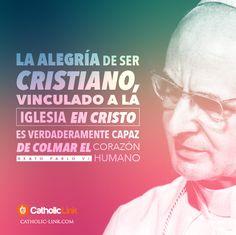 Biblioteca de Catholic-Link - La alegría de ser cristiano Pablo VI