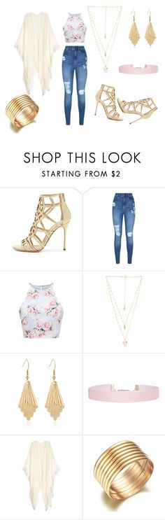 """untitled #14"" by futurefashiondesigner-ca on Polyvore featuring Sergio Rossi, Lipsy, Forever New, Natalie B and Humble Chic"