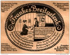Original-Werbung/ Anzeige 1911 - FRANKE'S BREITGELENK SCHUH / FRANKE / HESELER - ARTERN - ca. 90 x 70 mm
