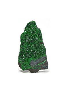 Uvarovite Green Druzy Garnet Crystals Cabbing Rough Mineral Specimen on Etsy, $35.00