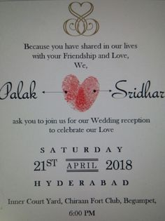 Reception card of 21 decdelhi of virushka virat anushka reception card of 21 decdelhi of virushka virat anushka pinterest virat kohli and cricket stopboris Gallery