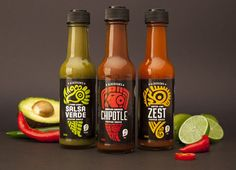 Alderson's Hot Sauce Logos are Inspired by Ancient Mayan Art #spicy trendhunter.com