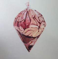 Fábio Magalhães - Sem Título (Série Retratos íntimos) Óleo sobre Tela - 150 x 150 cm - 2013