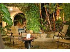 tropical backyards
