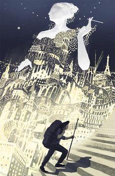"""Europa and the Traveler"" by Miko Maciaszek"