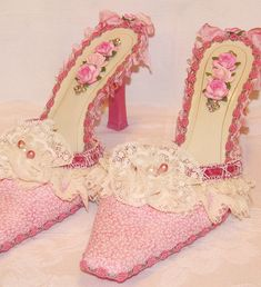 Marie Antoinette Shoes | Flickr   For more wedding tips and ideas go to my blog. www.mrspurplerose.com