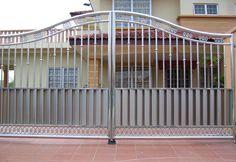 steel gates | Stainless Steel Main Gate