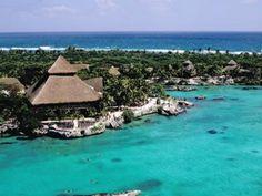 Xel-Ha Aquatic Park in Mexico.  The biggest natural aquatic park in the world!