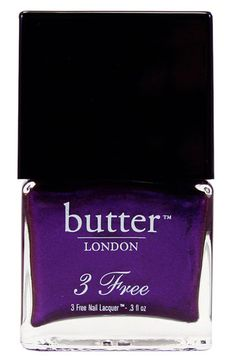 """""""hrh""""  butter LONDON '3 Free' Nail Lacquer  $14  #sephoracolorwash"""