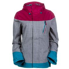 6cd5a0b3c O Neill Coral Jacket - Women s Silver ...