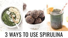 Spirulina Recipes, Superfood Recipes, Unique Recipes, Easy Healthy Recipes, Healthy Meals, What Is Spirulina, Blue Spirulina, Best Vegan Protein Sources, How To Cook Lentils