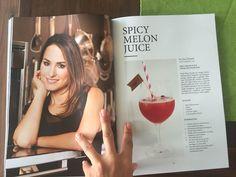 Hier das Rezept für einen Spicy Melon Juice. Mehr Rezepte von cookinesi findet ihr auf bauknecht.ch #heidiklum #trinkdichschlank #cocktail Heidi Klum, Spicy, Cocktail, Selfie, Rezepte, Slurpee, Shake, Selfies, Cocktails