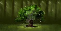 Magic Oak by NegroMar.deviantart.com on @DeviantArt