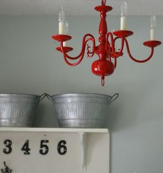 Blog di arredamento e interni - Home Decor: Rosso retrò
