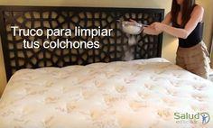 Te contamos cómo limpiar el colchón de forma sencilla y porque es tan importante que tomes en cuenta este consejo.