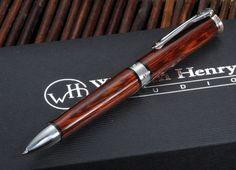 William Henry TW1-1206 Cocobolo Wood Twist Pen #jalinjewelers