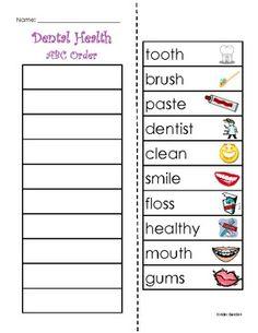 10 Worksheets That Will Teach Children the Basics of Dental Health