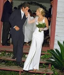 John F. Kennedy, Jr., married Carolyn Bessette on September 21, 1996, on Cumberland Island, Georgia.