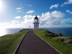 Cape Reinga lighthouse, the tip of the North Island! http://www.aatravel.co.nz/101/info/Cape-Reinga_989.htm